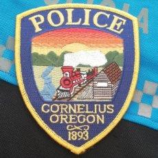 Militaria: PARCHE POLICIA. CORNELIUS POLICE (OREGON-ESTADOS UNIDOS). Lote 28383634