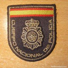Militaria: EMBLEMA DE BRAZO BORDADO DEL CUERPO NACIONAL POLICIA. MODELO ACTUAL.. Lote 206447782