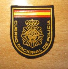 Militaria: EMBLEMA DE BRAZO GENÉRICO DEL MODELO ACTUAL DEL CUERPO NACIONAL DE POLICIA (PLÁSTICO Y FIELTRO).. Lote 206495921
