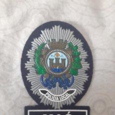 Militaria: PARCHE POLICIA LOCAL MAHON MAO (MENORCA, BALEARES). Lote 206781452