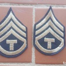 Militaria: PARCHE SARGENTO TECNICO TERCER GRADO US ARMY. WW2. Lote 206917131