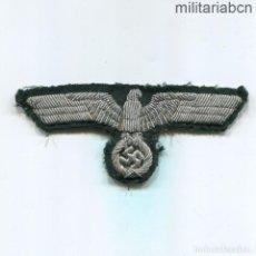 Militaria: ALEMANIA III REICH. ÁGUILA DE PECHO DE OFICIAL DE LA WEHRMACHT. BORDADA A MANO. Lote 207199685