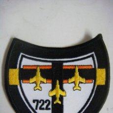 Militaria: PARCHE DE TELA 722. Lote 207324940