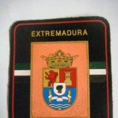 Militaria: PARCHE DE TELA EXTREMADURA POLICIA LOCAL. Lote 207342665