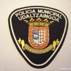 Militaria: PARCHE DE POLICIA MUNICIPAL, BERRIOZAR.. Lote 207580317