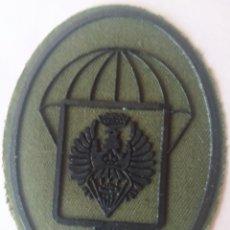 Militaria: PARCHE EMBLEMA DE LA AGRUPACIÓN DE BANDERAS ÉPOCA DE FRANCO FABRICACIÓN ACTUAL MOLDES ANTIGUOS. Lote 278393958