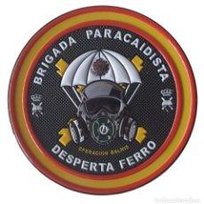 Militaria: PARCHE DE LA BRIGADA PARACAIDISTA (BRIPAC) OPERACIÓN BALMIS. Lote 210801824