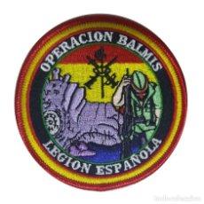 Militaria: PARCHE DE LA LEGIÓN ESPAÑOLA (OPERACIÓN BALMIS). Lote 210801859