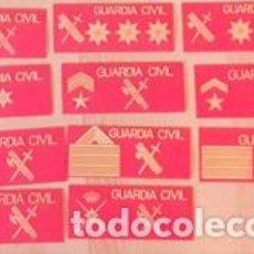 Militaria: 11 PARCHES PECHO GUARDIA CIVIL. Lote 210956640