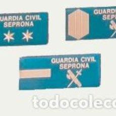 Militaria: 3 PARCHES PECHO SEPRONA GUARDIA CIVIL. Lote 210957307