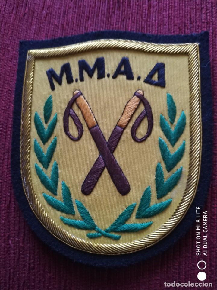 PARCHE EMBLEMA DISTINTIVO POLICIA POLICIAL ANTIDISTURBIOS CHIPRE M.M.A.A. (Militar - Parches de tela )