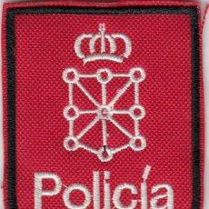 Militaria: PARCHE EMBLEMA ESCUDO ESPAÑA POLICIA FORAL NAVARRA. Lote 213492570