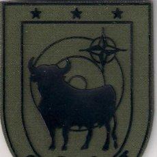Militaria: PARCHE EMBLEMA ESCUDO ESPAÑA EJERCITO CAOC EIGHT OTAN NATO COMBINED AIR OPERATIONS CENTREER. Lote 213493693