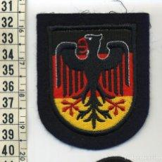 Militaria: PARCHE DISTINTIVO DE NACIONALIDAD - ALEMANIA - (BOMBEROS - POLICÍA - MILITAR). Lote 213669632