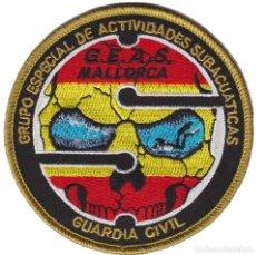 Militaria: PARCHE GUARDIA CIVIL GEAS MALLORCA (VELCRO). Lote 213697798