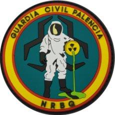 Militaria: PARCHE GUARDIA CIVIL PALENCIA NRBQ (PVC 2D VELCRO). Lote 213697827