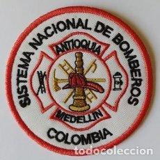 Militaria: PARCHE DE BOMBEROS COLOMBIA (1325). Lote 213910681