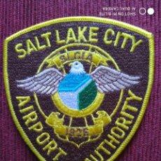Militaria: PARCHE EMBLEMA DISTINTIVO POLICIAL, POLICIA SALT LAKE CITY ESTADOS UNIDOS USA. Lote 215144151