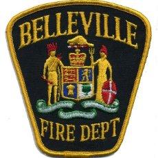 Militaria: PARCHE BOMBERO BELLEVILLE - CANADÁ - FIRE DEPT.. Lote 215399857