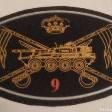 Militaria: PARCHE EMBLEMA DE PECHO NEGRO DEL RECLAC NUMANCIA 9. Lote 295508968