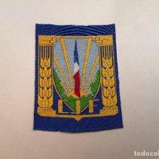 Militaria: FRANCIA : PARCHE DE CHANTIERS DE JEUNESSE FRANÇAIS (CJF), ORGANIZACIÓN DEL GOBIERNO DE VICHY 1940-44. Lote 217369468
