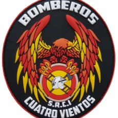 Militaria: PARCHE DEL EJÉRCITO DEL AIRE. CONTRAINCENDIOS. BASE AÉREA DE CUATRO VIENTOS. Lote 217583495