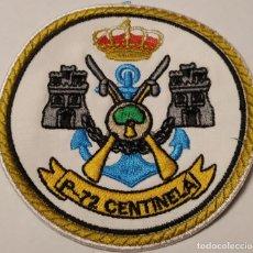 Militaria: PARCHE EMBLEMA BORDADO DE BRAZO A COLOR P-72 CENTINELA. Lote 226376843