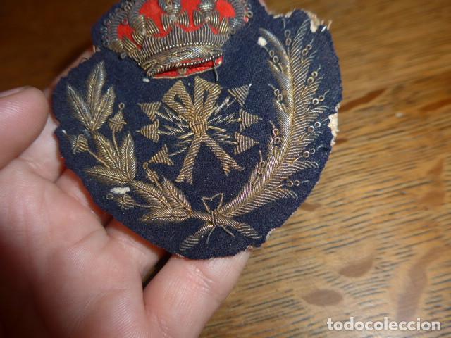 Militaria: Antiguo y raro parche bordado de transmisiones de Alfonso XIII, original. - Foto 5 - 219893338