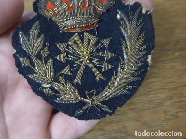 Militaria: Antiguo y raro parche bordado de transmisiones de Alfonso XIII, original. - Foto 7 - 219893338