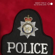 Militaria: ANTIGUO PARCHE EMBLEMA BEDFORDSHIRE POLICE ENGLAND INGLATERRA DISTINTIVO POLICIAL. Lote 220134755