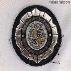 Militaria: PARCHE O INSIGNIA EN PLÁSTICO TERMOINYECTADO DE LA GUARDIA URBANA DE BADALONA.. Lote 220485502