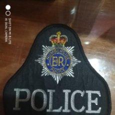 Militaria: PARCHE DISTINTIVO POLICIAL DE WEST SUSSEX INGLATERRA, ENGLAND EMBLEMA, INSIGNIA POLICIA POLICE. Lote 220637613