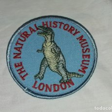 Militaria: PARCHE EMBLEMA DE TELA THE NATURAL HISTORY MUSEUM LONDON. Lote 220667477
