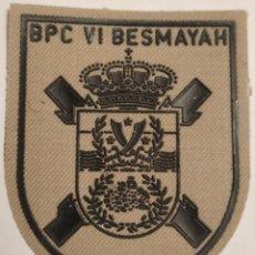 Militaria: PARCHE EMBLEMA DE BRAZO ÁRIDO BPC VI BESMAYAH. Lote 256077215