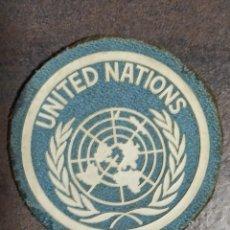 Militaria: PARCHE NACIONES UNIDAS ONU U.N. Lote 221710367