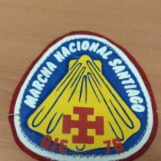 Militaria: ANTIGUO PARCHE ESCUDO DE BRAZO DE MARCHA NACIONAL SANTIAGO OJE 1976. Lote 221981001