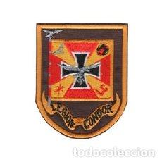 Militaria: PARCHE BORDADO ESCUDO LEGIÓN CONDOR ARTICULO NUEVO. Lote 222118058