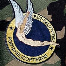 Militaria: PARTE DE TELA ANTIGUA POTAAERONACES DEDALO PH-01. Lote 222288127