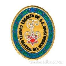 Militaria: PARCHE BORDADO ESCOLTA CUARTEL GENERAL ARTICULO NUEVO. Lote 222393153