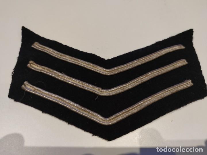GALON PARCHE SARGENTO POLICIA INGLATERRA ANTIGUO AÑOS 70 (Militar - Parches de tela )