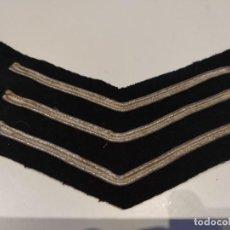 Militaria: GALON PARCHE SARGENTO POLICIA INGLATERRA ANTIGUO AÑOS 70. Lote 222397698
