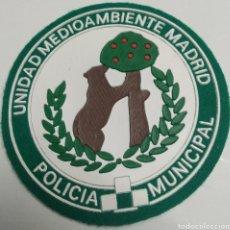 Militaria: PARCHE EMBLEMA DE BRAZO A COLOR DE LA POLICÍA MUNICIPAL DE MADRID UNIDAD MEDIOAMBIENTE. Lote 222656541