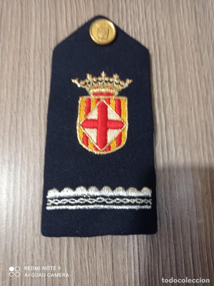 HOMBRERA MILITAR ANTIGUA (Militar - Parches de tela )