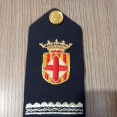 Militaria: HOMBRERA MILITAR ANTIGUA. Lote 222667212