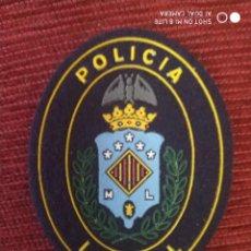 Militaria: EMBLEMA PARCHE POLICIA LOCAL DISTINTIVO POICIAL DE SAGUNTO COMUNIDAD VALENCIANA. Lote 223444178