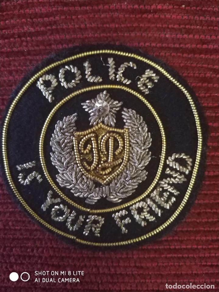 PARCHE BORDADO POLICIA NACIONAL PAKISTAN . EMBLEMA, ESCUDO DISTINTIVO POLICIAL ASIA (Militar - Parches de tela )