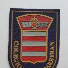 Militaria: COLEGIO MAYOR MILITAR BARBERAN PARCHE. Lote 226670225