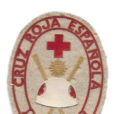 Militaria: PARCHE CRUZ ROJA OPERACIONES DE SOCORRO. Lote 227238670