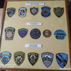 Militaria: PARCHES DISTINTIVOS POLICIALES POLICIAL DE WEST VIRGINIA WASHINGTON Y OTROS ESTADOS EMBLEMA,POLICIA. Lote 227493210