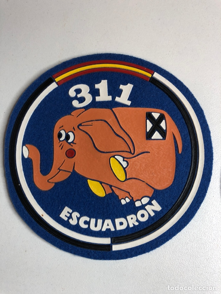 Militaria: Parches emblemas 311 escuadrón - 312 escuadrón - Foto 2 - 227981220